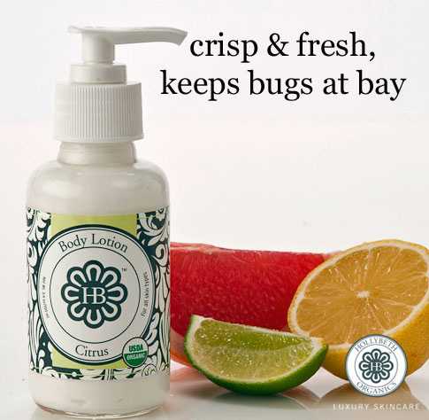 citrus body lotion
